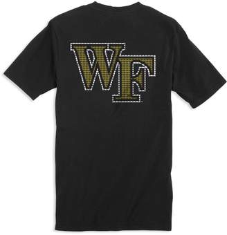Southern Tide Skipjack Fill T-Shirt - Wake Forest University