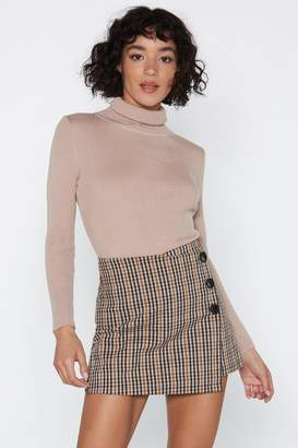 Nasty Gal On a Roll Turtleneck Top
