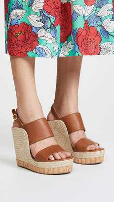 Salvatore Ferragamo Maratea Wedge Sandals