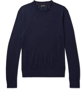 Club Monaco Slim-Fit Merino Wool, Silk And Cashmere-Blend Sweater