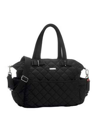 Storksak Bobby Quilted Nylon Diaper Bag