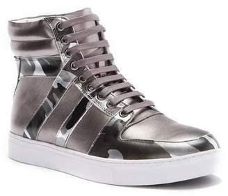 Badgley Mischka Sutherland Leather High-Top Sneaker