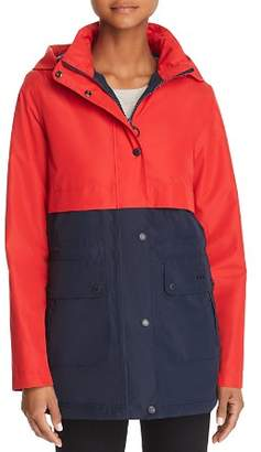 Barbour Altair Color-Blocked Raincoat