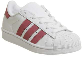 05810b19f79 adidas Superstar Kids 10-2 White Pink