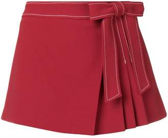 RED Valentino pleat-detail skort