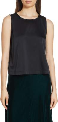 Eileen Fisher Jewel Neck Shell