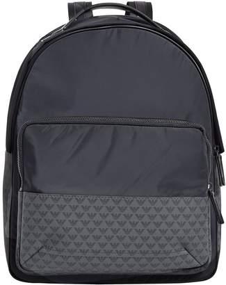 Emporio Armani Eagle Logo Backpack