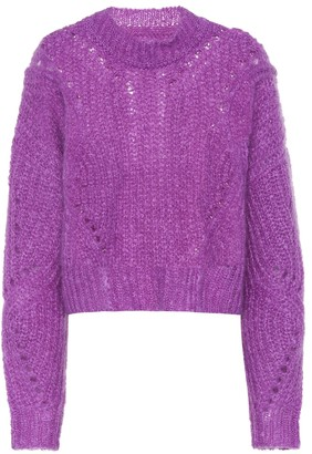 Isabel Marant Irren mohair and wool-blend sweater