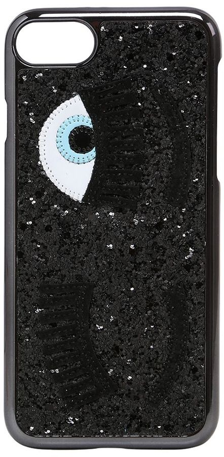 Chiara Ferragni Flirting Eye Glittered Iphone 7 Case