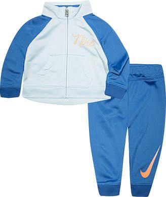Nike 2-pc. Logo Pant Set Baby Girls