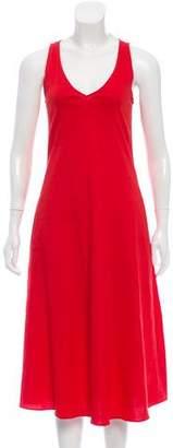 Theory Linen Midi Dress