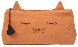 EMILE ET IDA Canvas Cat Mine Pencil Case $33.60 thestylecure.com