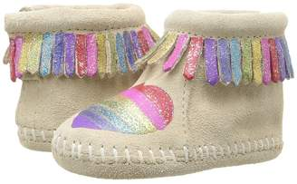 Minnetonka Kids Free Range Mama Love One Another Girl's Shoes