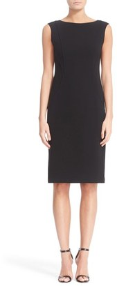 Women's Lafayette 148 New York Welma Seamed Sheath Dress $498 thestylecure.com