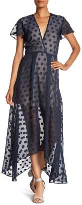 NSR Madi Dotted Maxi Dress
