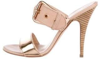 Giuseppe Zanotti Leather High-Heel Sandals
