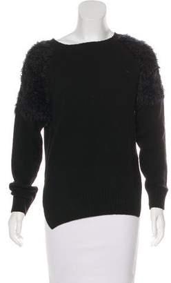 Anine Bing Wool-Blend Knit Sweater