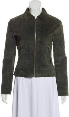 Plein Sud Jeans Casual Leather Jacket