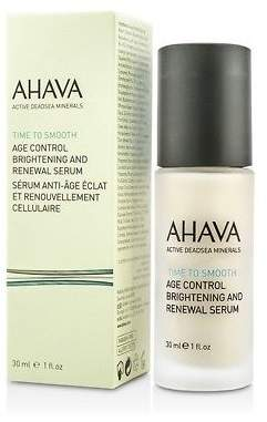 Ahava NEW Time To Smooth Age Control Brightening and Renewal Serum 30ml Womens