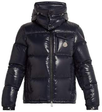 Moncler Montbeliard Down Filled Jacket - Mens - Navy