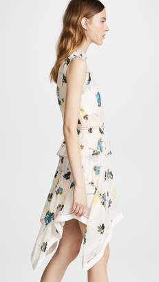 Self-Portrait Self Portrait Floral Print Dress