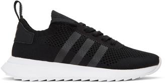 adidas Originals Black Flashback Sneakers $120 thestylecure.com
