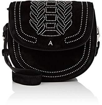 Altuzarra Women's Ghianda Small Suede Saddle Bag
