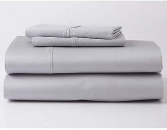 Ghostbed Premium Supima Cotton and Tencel Luxury Soft Sheet Set in Gray, Multiple Sizes Bedding