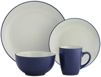 Cuisinart 16Pc Color Band Ceramic Dinnerware Set