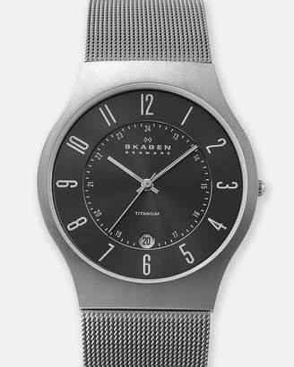 Skagen Grenen Grey Analogue Watch