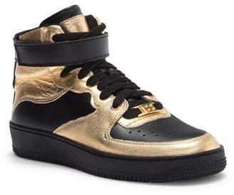 RED Valentino High Top Metallic Sneaker
