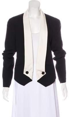 Rebecca Minkoff Silk Open Front Blazer w/ Tags