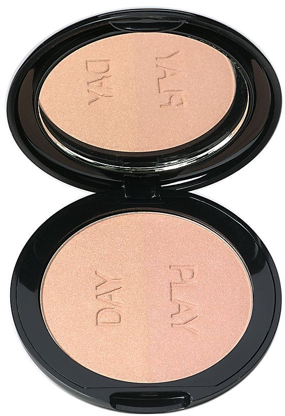 Vincent Longo Duo Highlighter Compact, Beauty Sin 1 ea