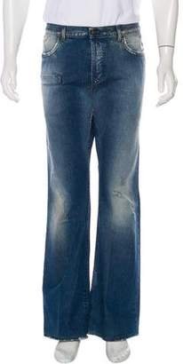 Just Cavalli Distressed Relaxed Jeans
