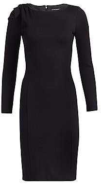 Emporio Armani Women's Bow-Detail Jersey Dress