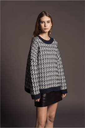 Sonia Rykiel Long-Sleeved Jumper With Graphic Design