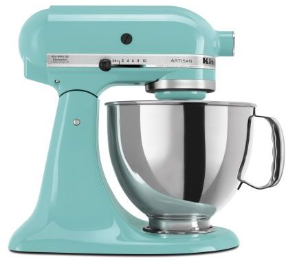 KitchenAid Aqua-Sky Artisan Stand Mixer, 5 qt.
