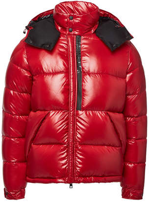 Moncler Marlioz Down Jacket with Hood