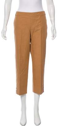 Salvatore Ferragamo Cropped Mid-Rise Pants w/ Tags