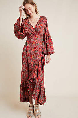 Anthropologie Sachin & Babi Louisa Ruffled Maxi Dress