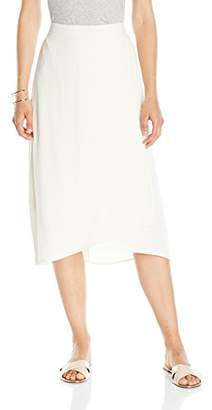Paris Sunday Women's Long Crepe Wrap Skirt