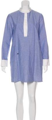 Band Of Outsiders Chambray Shirt Dress