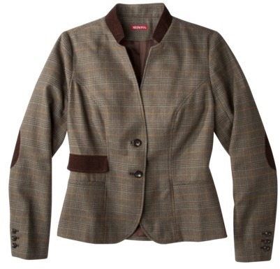 Merona® Womens Jacket w/Corduroy Stand Collar - Assorted Patterns