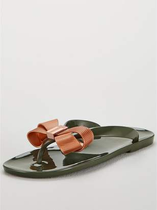 Ted Baker Suszie Flip Flop - Khaki