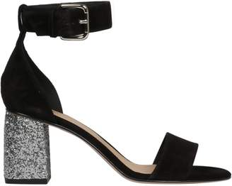 RED Valentino Ankle Buckle Strapped Sandals