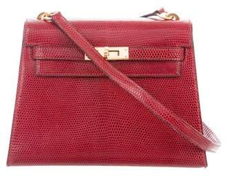 Hermes Lizard Mini Kelly Bag