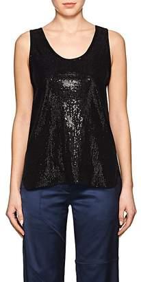 Giorgio Armani Women's Embellished Jersey Sleeveless Top