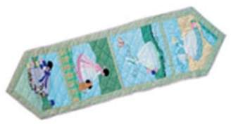 Patch Magic TRSNDR-S Sundress, Table Runner Small 54 x 16 inch
