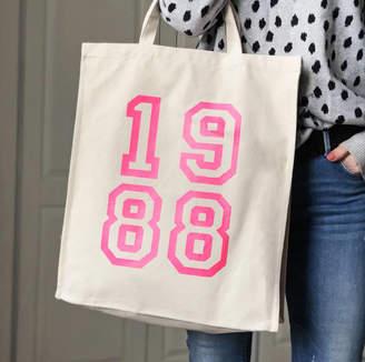 Modo creative 1988 Pink Neon Canvas Bag