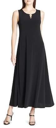 Calvin Klein Ring-Detail Maxi Dress